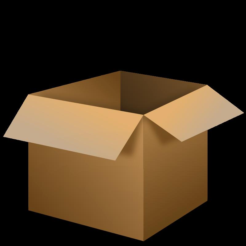 Open Box Clipart-open box clipart-0