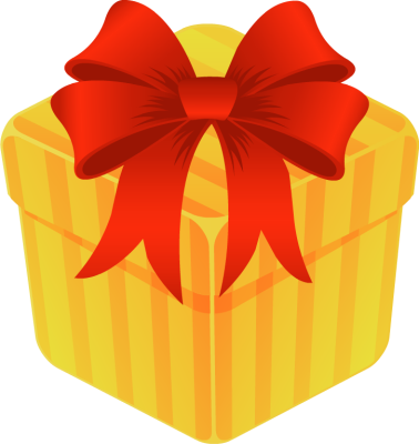 open gift clipart