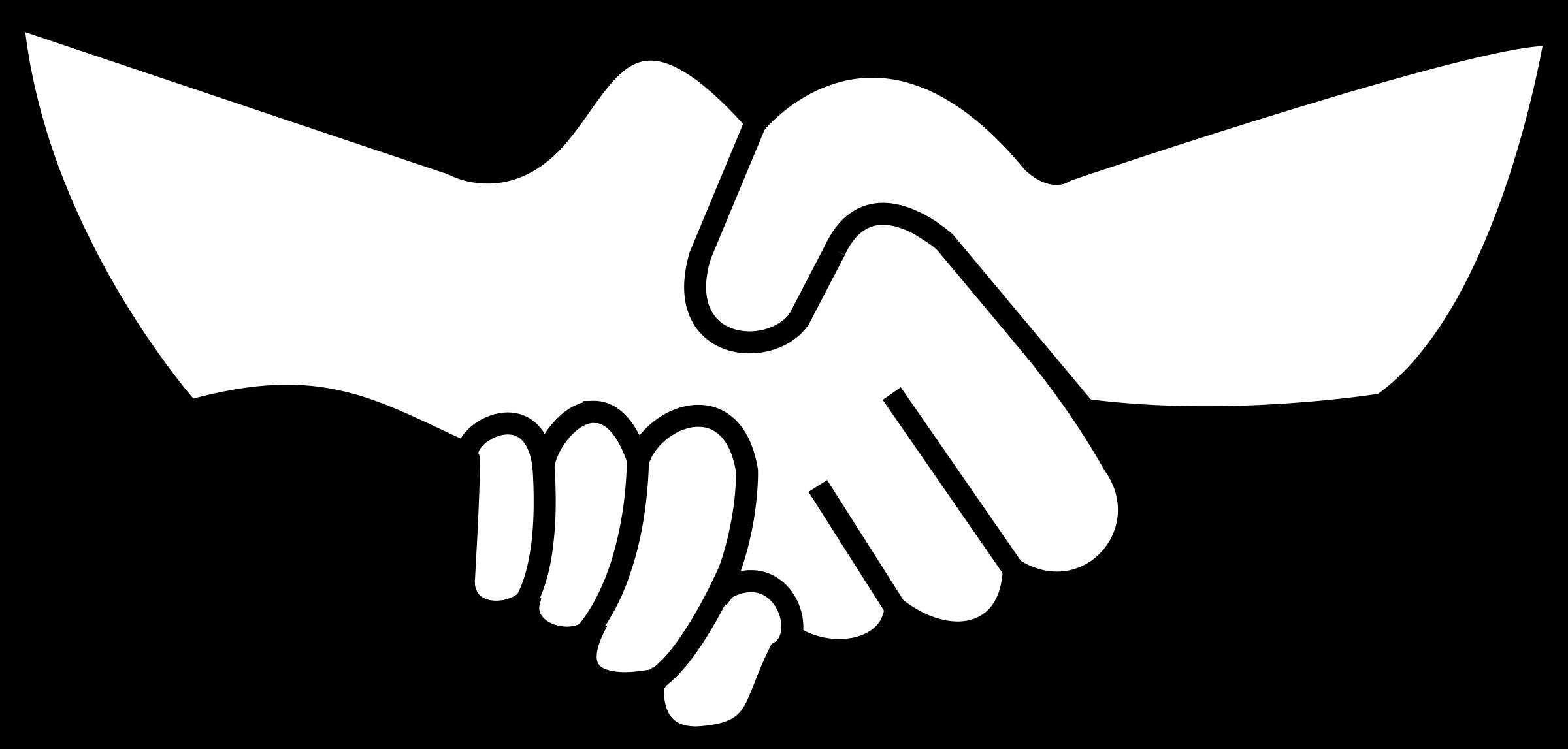 open giving hands clipart