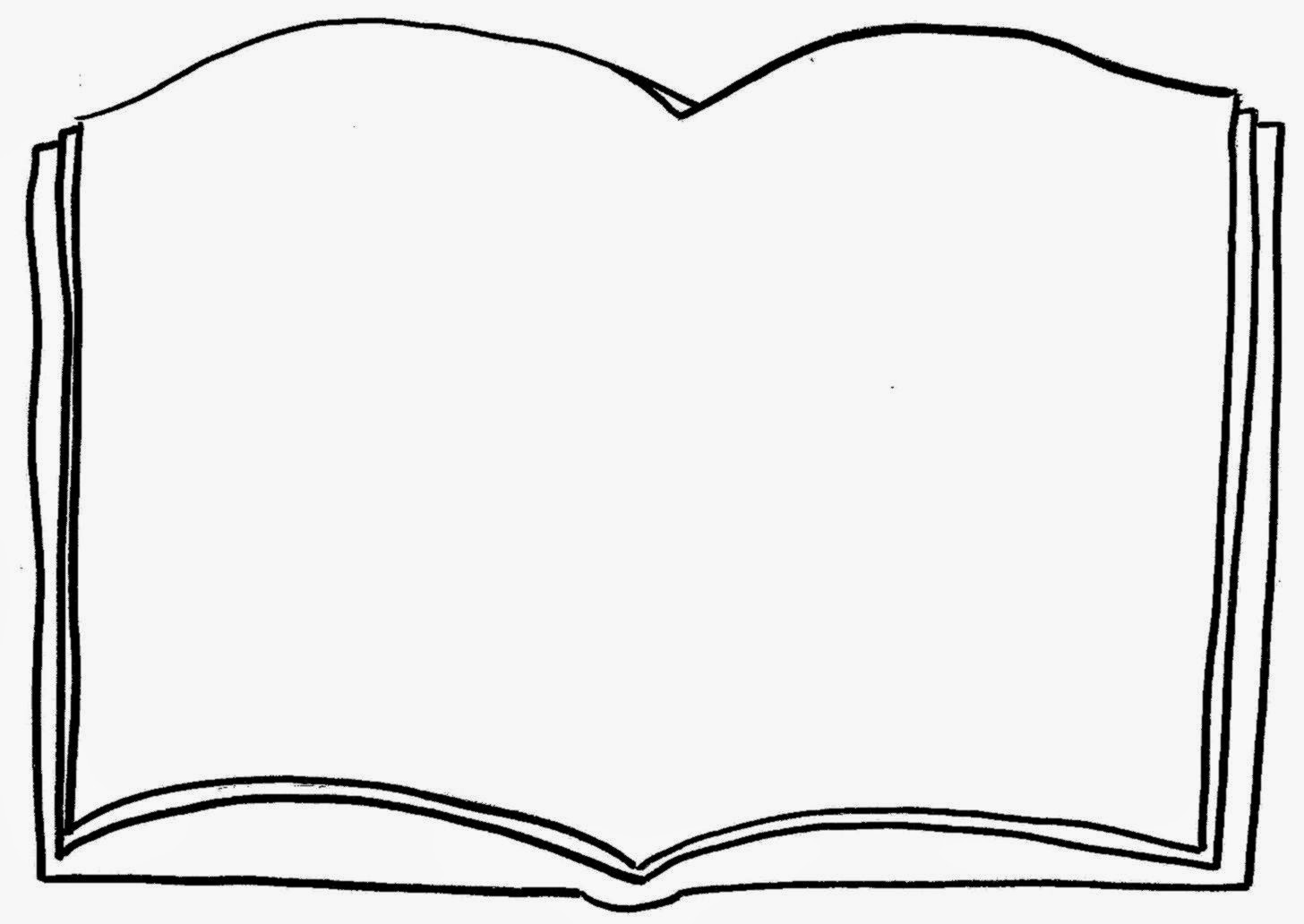 Open Book Coloring Page Free Coloring Pa-Open book coloring page free coloring pages clip art-6