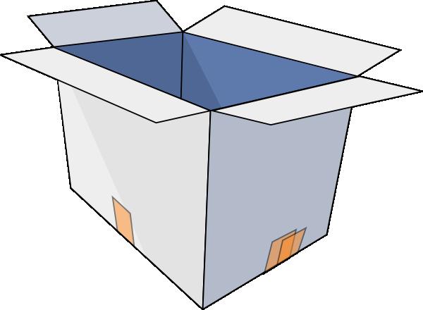 Open Box clip art free .