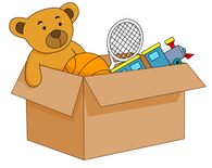 Open Box Filled With Kids Toys Clipart. -open box filled with kids toys clipart. Size: 55 Kb-7