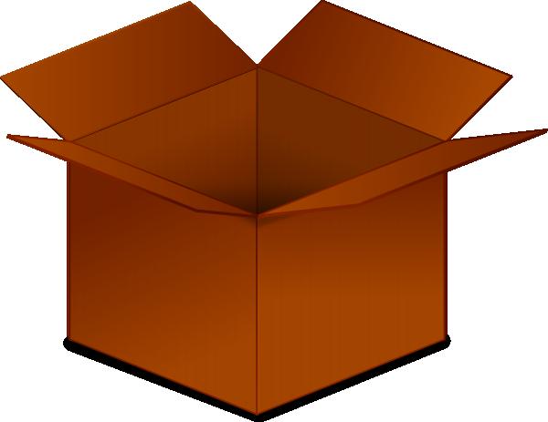 Open Cardboard Box Clip Art At Clker Com-Open Cardboard Box Clip Art At Clker Com Vector Clip Art Online-12
