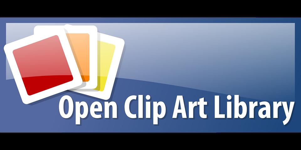 Open Clip Art Library Logo .-open clip art library logo .-7