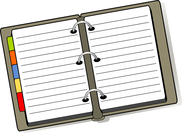 Open Diary Clip Art At Clker Com Vector -Open Diary Clip Art At Clker Com Vector Clip Art Online Royalty-7