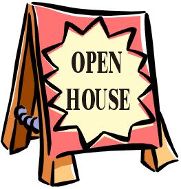 Open House Clip Art Clipart Best