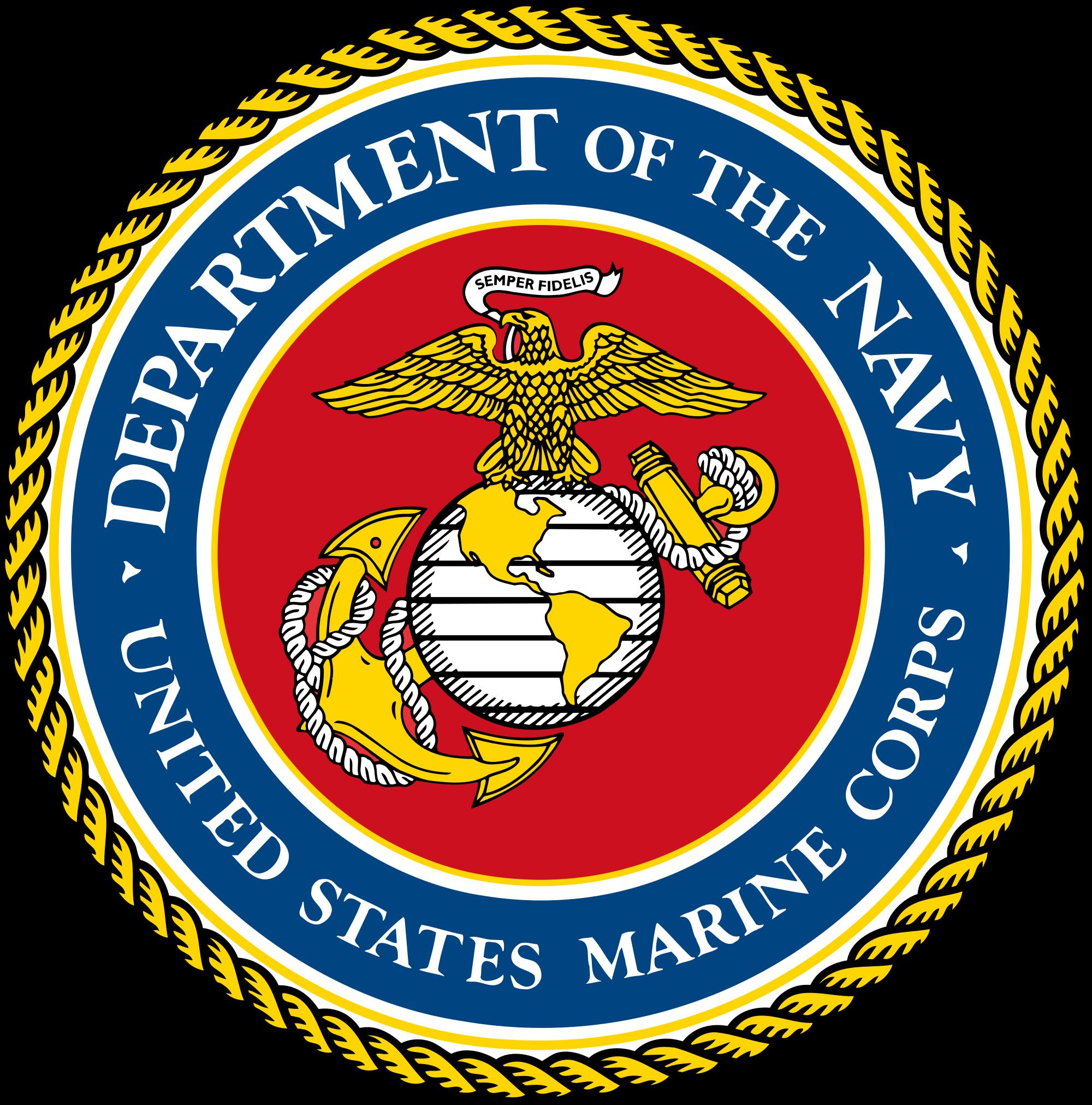 Open ... - Marine Corps Emblem Clip Art