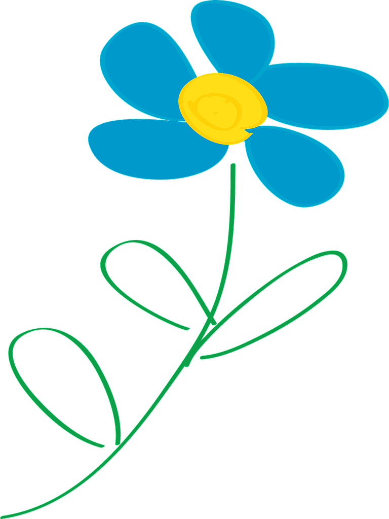 OpenClipartu0026#39;s Free Flower Clip Art