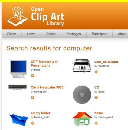 OpenClipArt clipartall.com screenshot