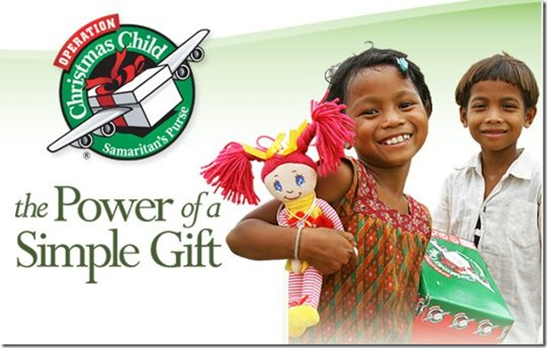 Operation Christmas Child Clip Art 2016