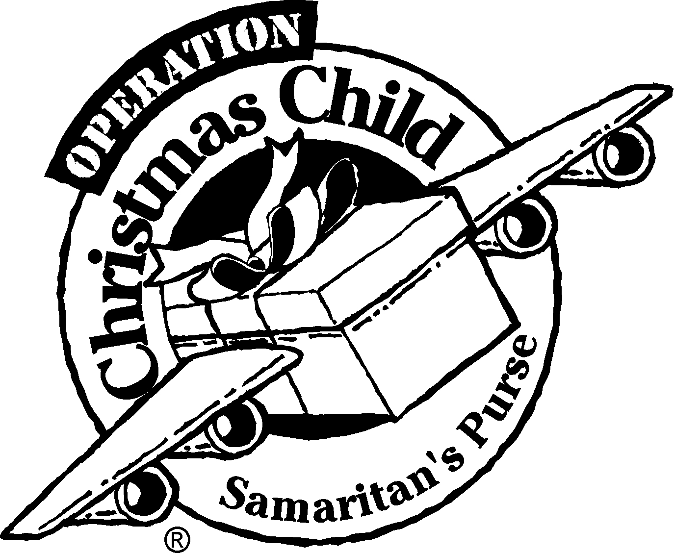 Operation Christmas Child Cli - Operation Christmas Child Clipart