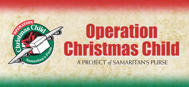 Operation Christmas Child .