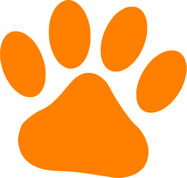 Orange Cat Paw Clip Art At Clker Com Vec-Orange Cat Paw Clip Art At Clker Com Vector Clip Art Online Royalty-14