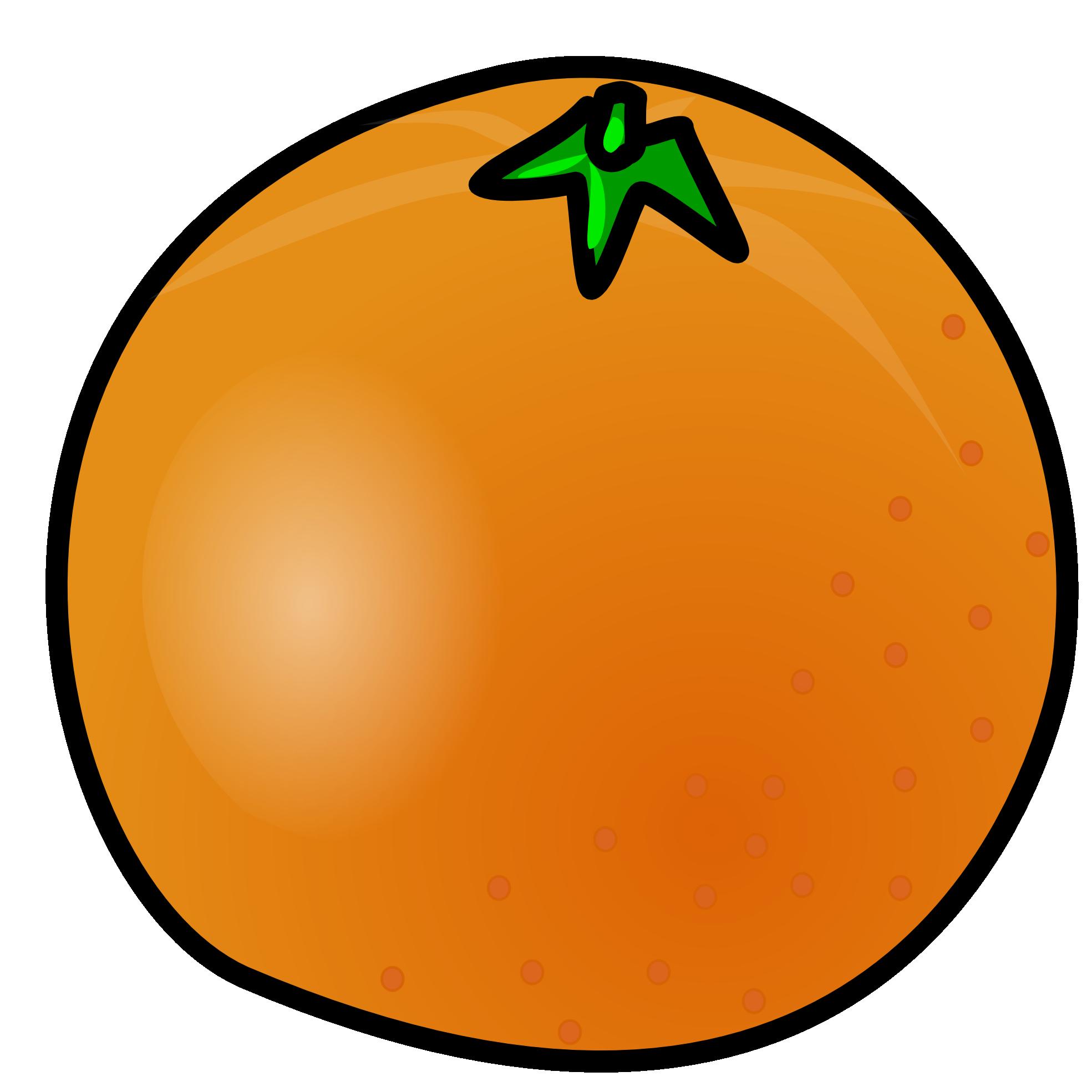 Orange Clip Art-Orange Clip Art-7