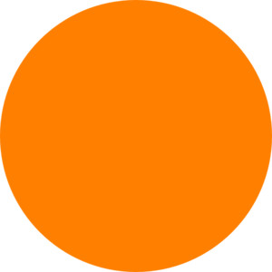 Orange Dot clip art
