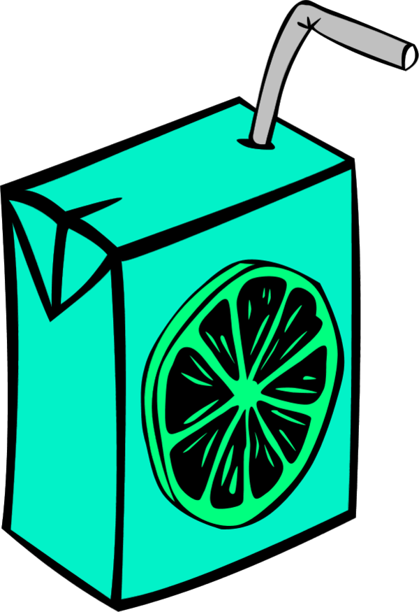 Orange Juice - vector Clip Art