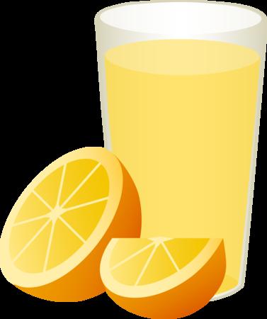 Orange juice vitamin clip art free clipart images