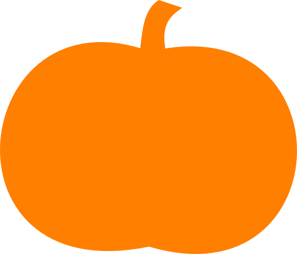 Orange Pumpkin Clip Art At ..