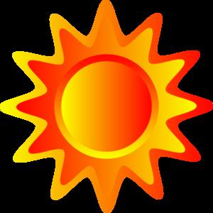 Orange Sun Clipart #1-Orange Sun Clipart #1-14