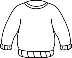 Orange Sweater Clip Art Orange Sweater Image