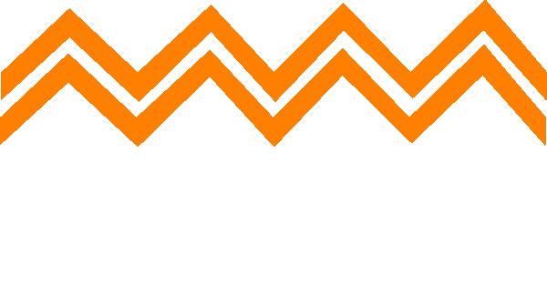 Orange Zig Zag Clip Art At Clker Com Vector Clip Art Online Royalty