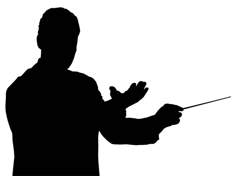 Orchestra Clipart. Conductor .-Orchestra Clipart. Conductor .-17