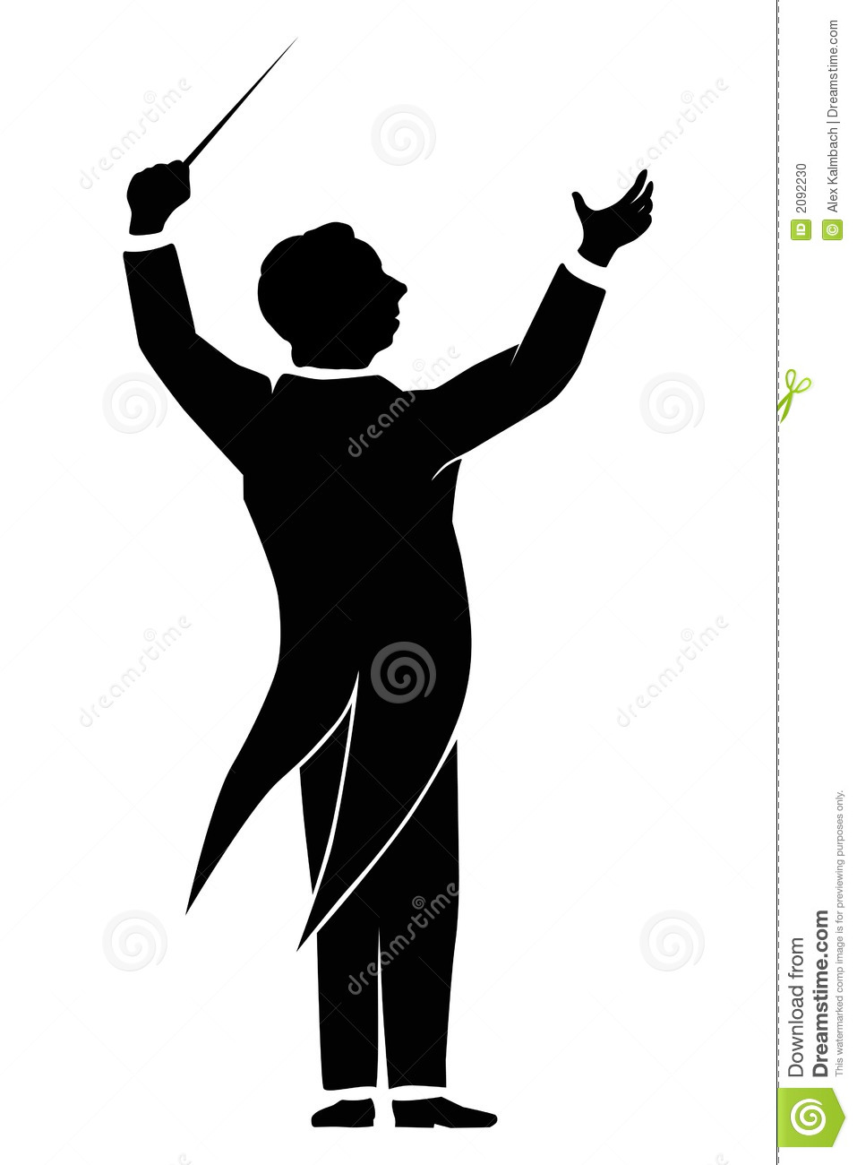 Orchestra Conductor Stock Photo Image 20-Orchestra Conductor Stock Photo Image 2092230-19