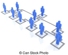 ... Organization Chart - Blue Group Of P-... organization chart - blue group of people standing on the... organization chart Clipartby ...-8