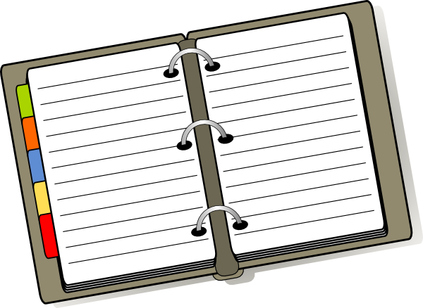 Organized Binder Clip Art At Clker Com Vector Clip Art Online
