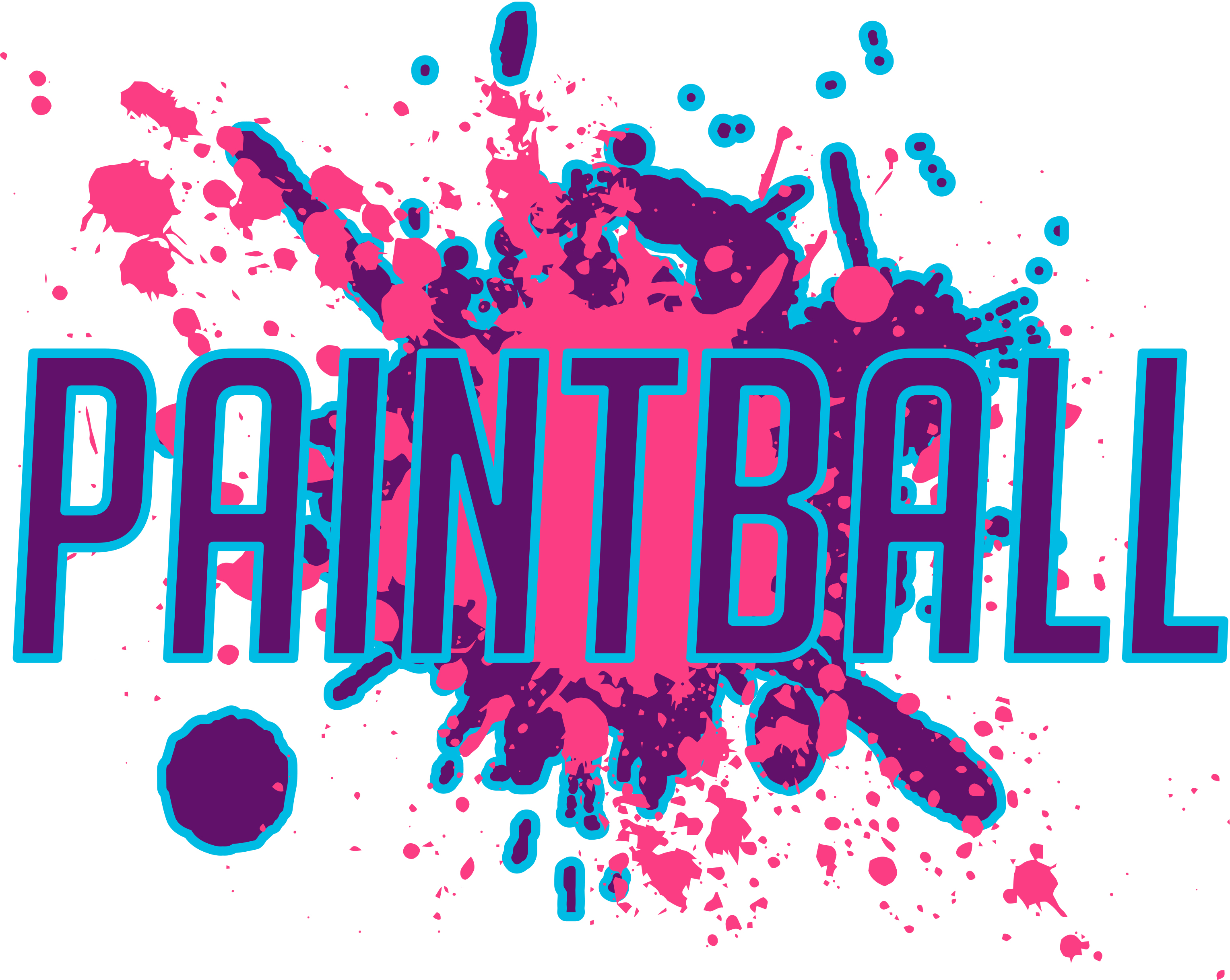 Original Clip Art Created In  - Paintball Clip Art