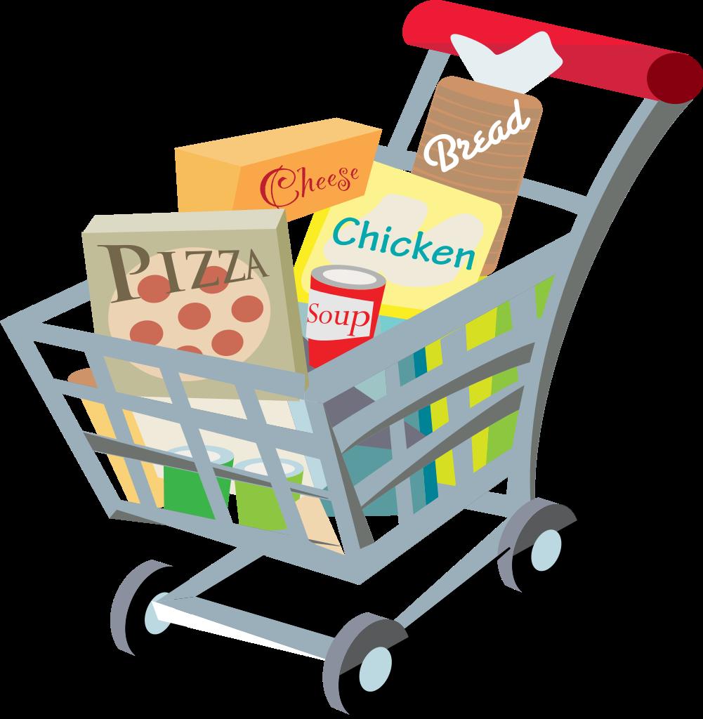 Original File Svg File Nomina - Grocery Cart Clipart
