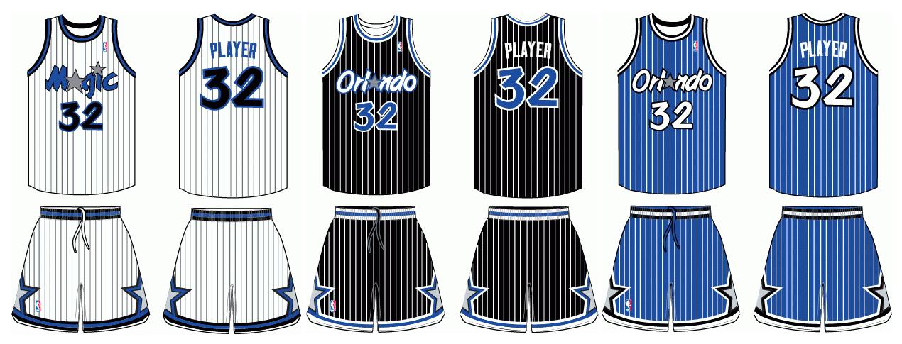 1989-1998 Orlando Magic Uniforms By Chen-1989-1998 Orlando Magic Uniforms by Chenglor55 ClipartLook.com -5