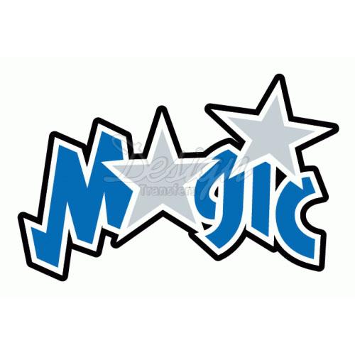 Orlando Magic Logo T Shirt Iron On Trans-Orlando Magic logo T Shirt Iron on Transfers N1139-12