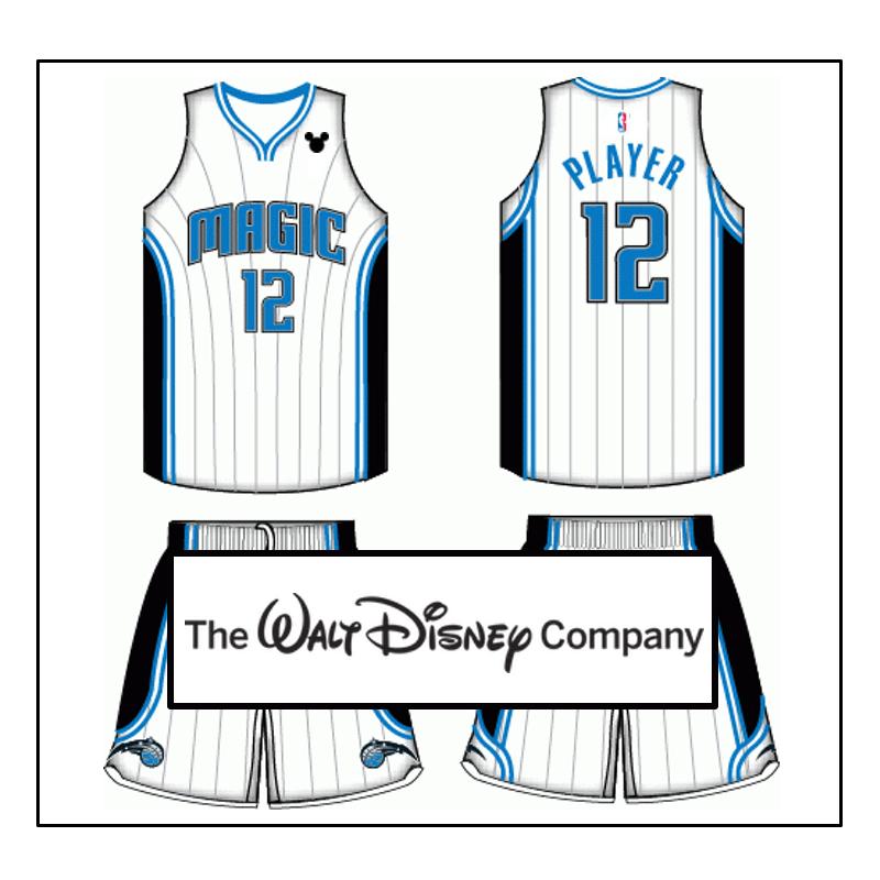 Reddit User Mocks Up An Orlando Magic Je-Reddit user mocks up an Orlando Magic jersey with a corporate logo.-19