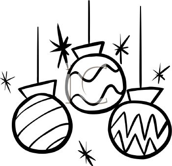 Ornament Clipart Black And White-ornament clipart black and white-16