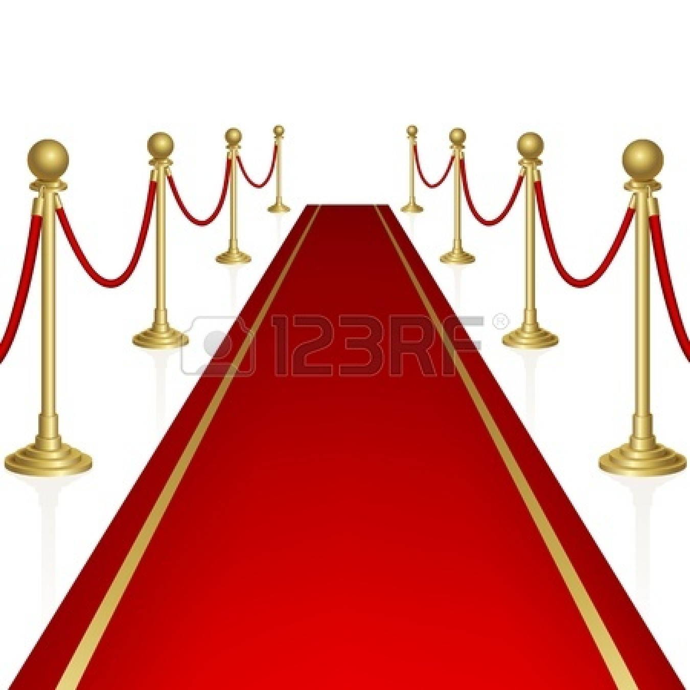 Oscar Red Carpet Clip Art