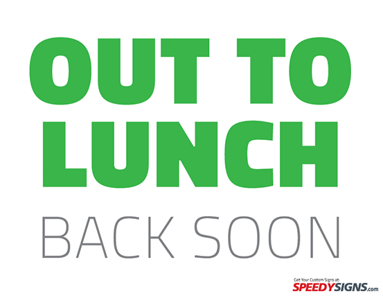 Out To Lunch Signs Printable-out to lunch signs printable-4