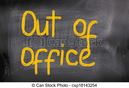 Out Of Office Concept - Csp18143254-Out Of Office Concept - csp18143254-15