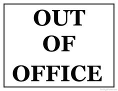 ... Out Of The Office Clip Art - Clipart-... Out of the office clip art - ClipartFox ...-5