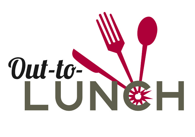 Out To Lunch Clip Art Out To Lunch Vector Sign Black Image On