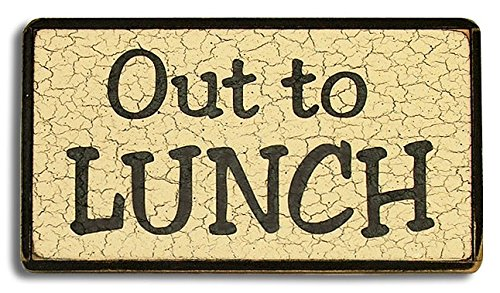 Out To Lunch Sign Clipart
