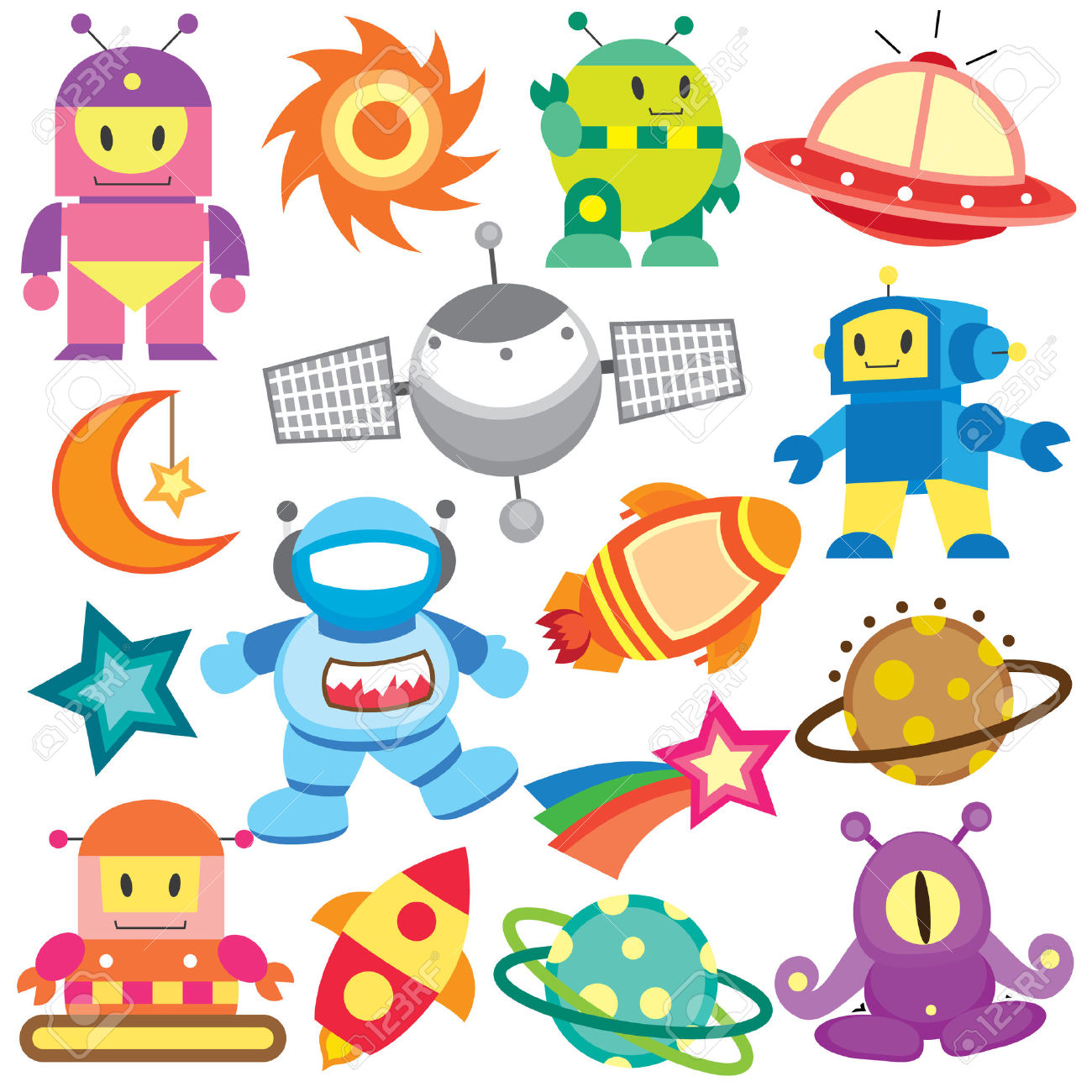 Outer Space Clipart - Blogsbeta