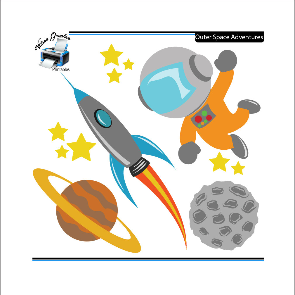 Outer Space Clipart - ClipArt Best