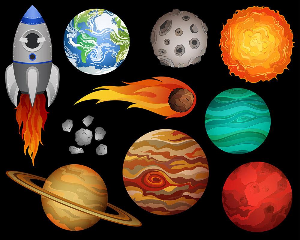 Outer space clipart - ClipartFest-Outer space clipart - ClipartFest-3