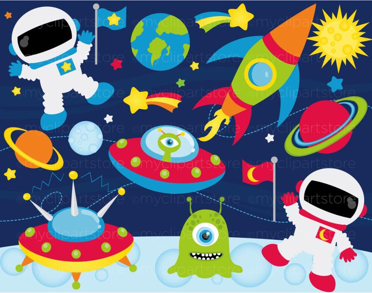 Outer space clipart - ClipartFest-Outer space clipart - ClipartFest-1