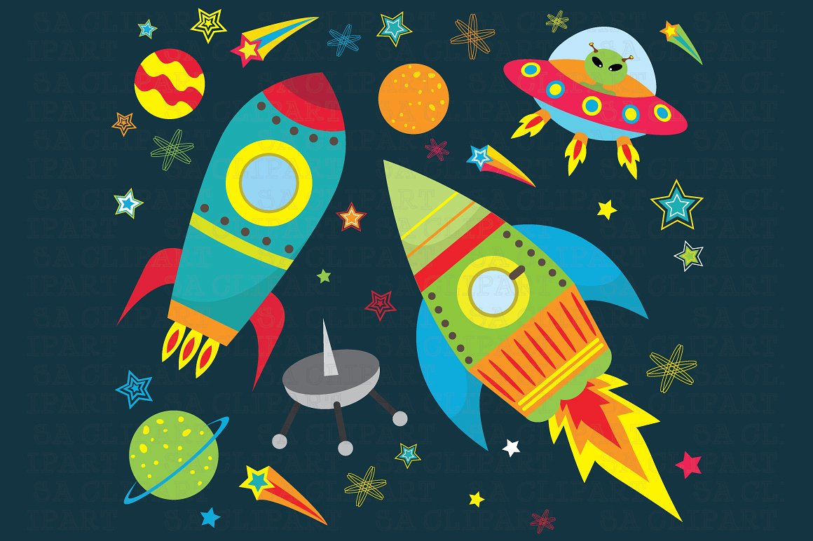 Outer space clipart-Outer space clipart-18