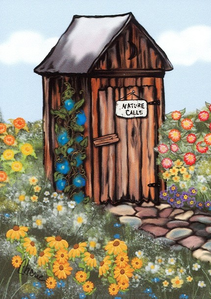 Outhouse Clip Art-Outhouse Clip Art-7