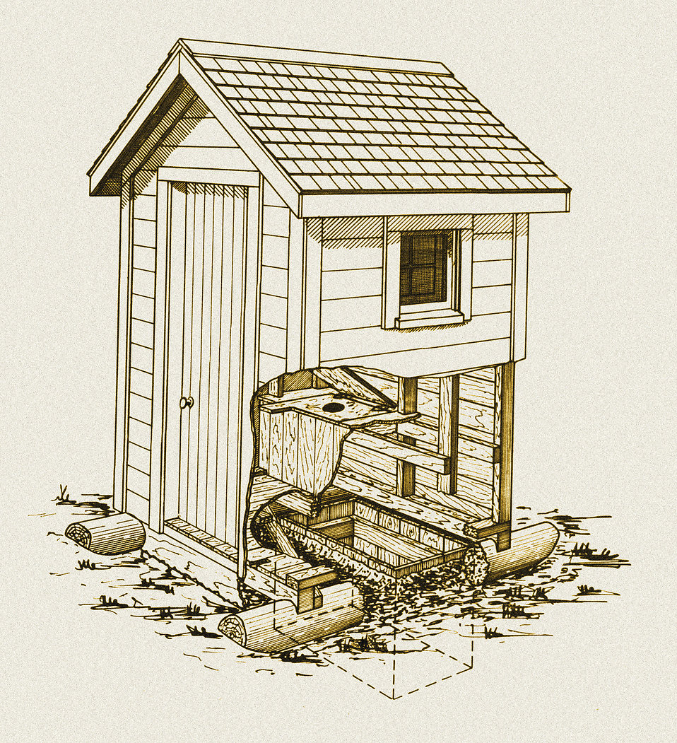 Outhouse Clipart-Outhouse Clipart-11