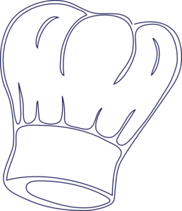 Outlined Chef Hat Clip Art-Outlined Chef Hat Clip Art-13