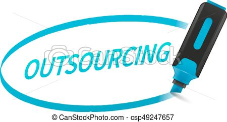Outsourcing - csp49247657